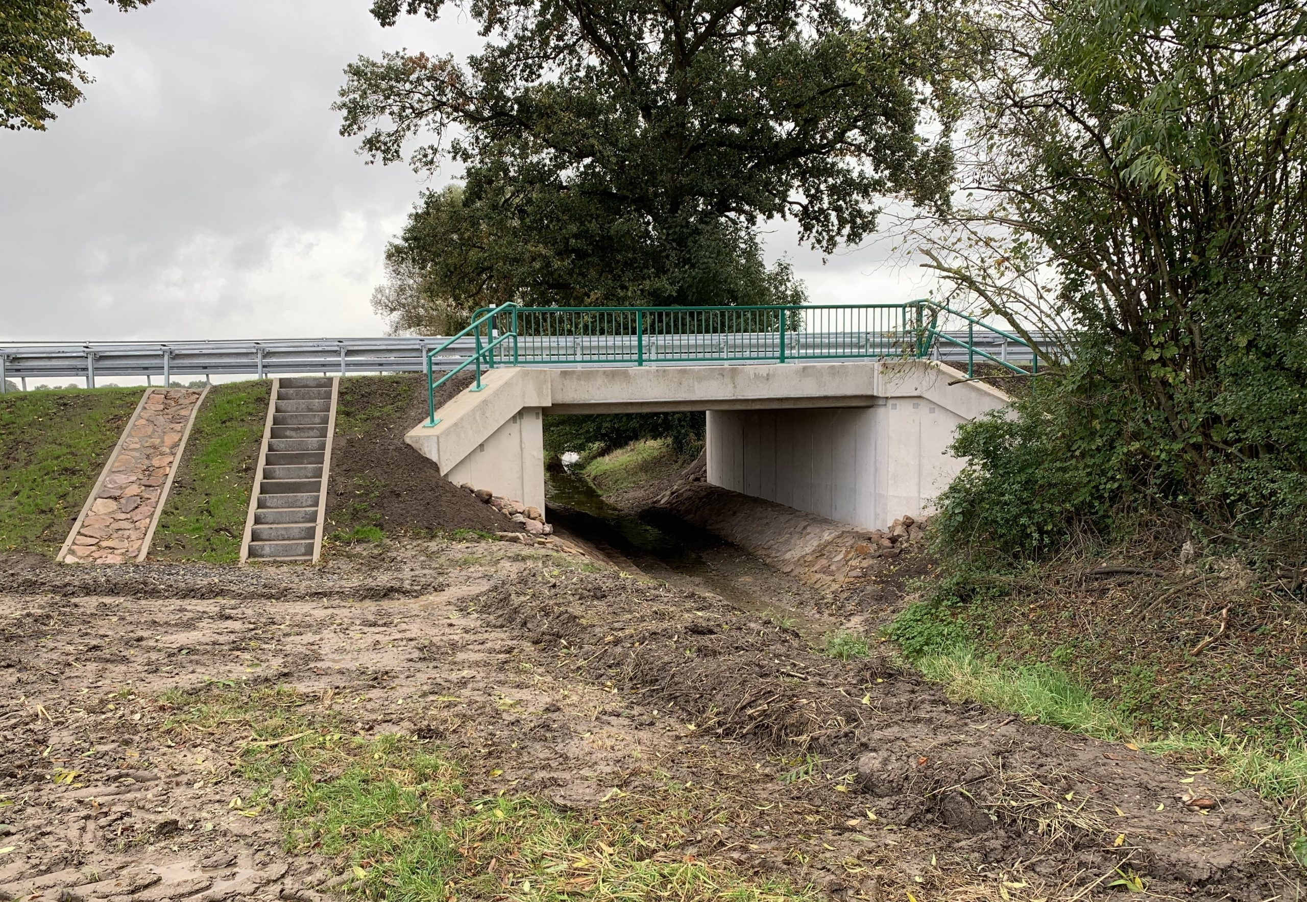 Neue Brücke über den Westerbach in Albersloh fertiggestellt / K 33 ab Montag wieder befahrbar