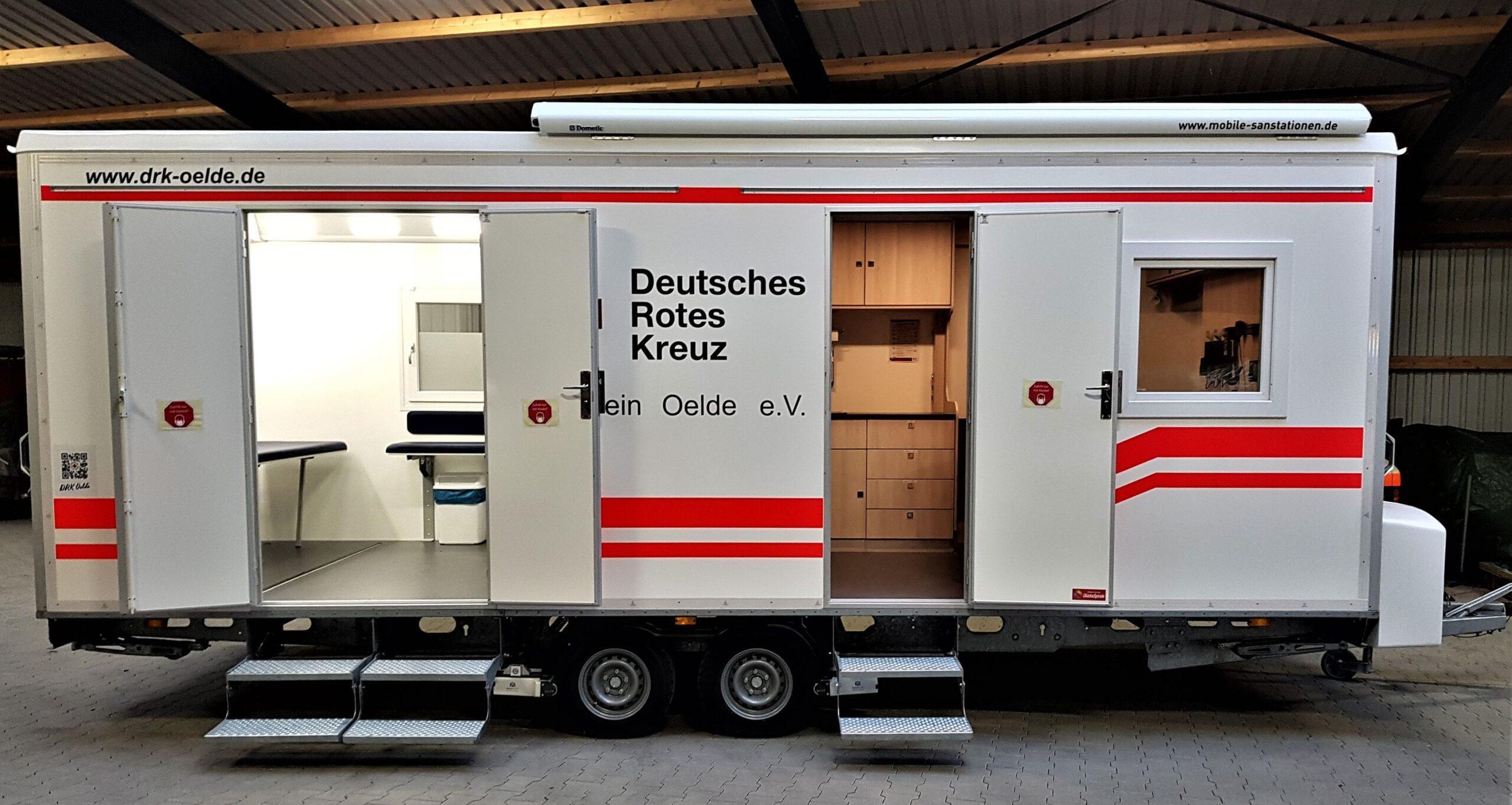 Mobiles Impfzentrum in den Kommunen