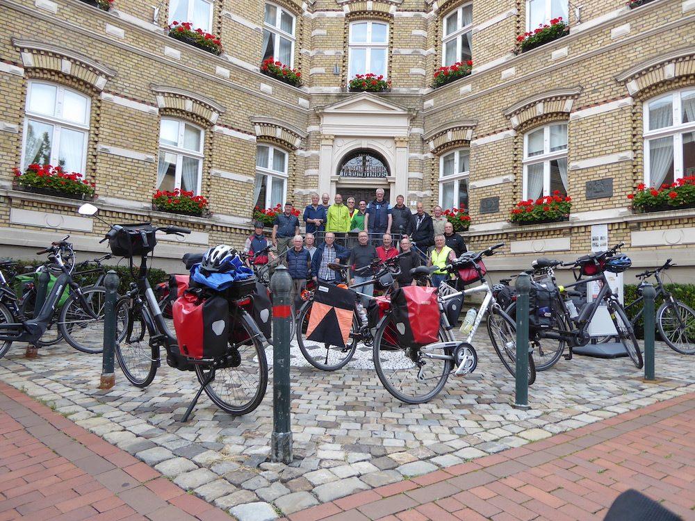 Ausflug der Männer Fahrradgruppe der Kolpingsfamilie Warendorf