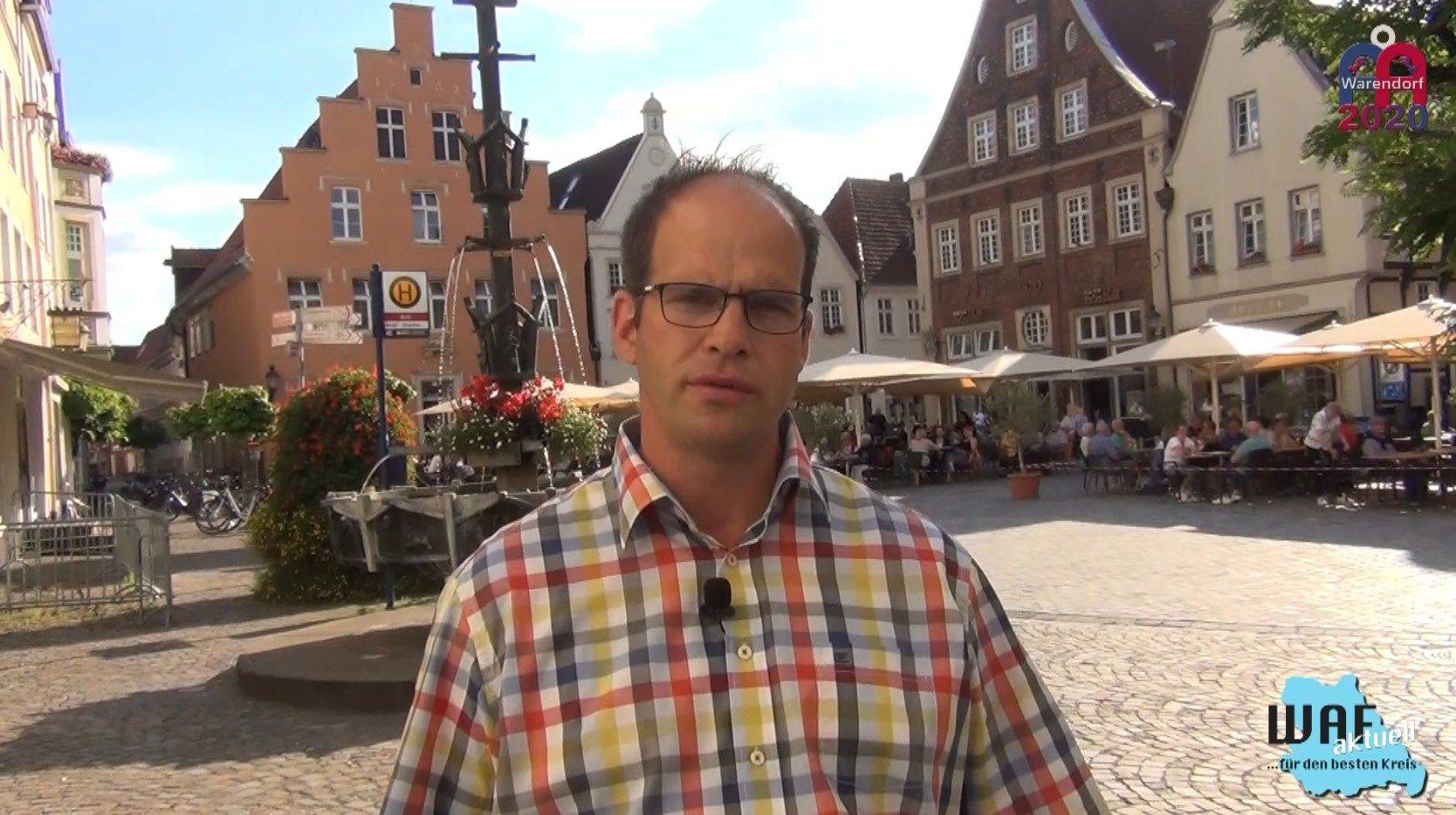 Ein Filmbeitrag über Warendorf! Glück gehabt: Der Kreis Warendorf ist nicht mehr Corona-Hotspot!