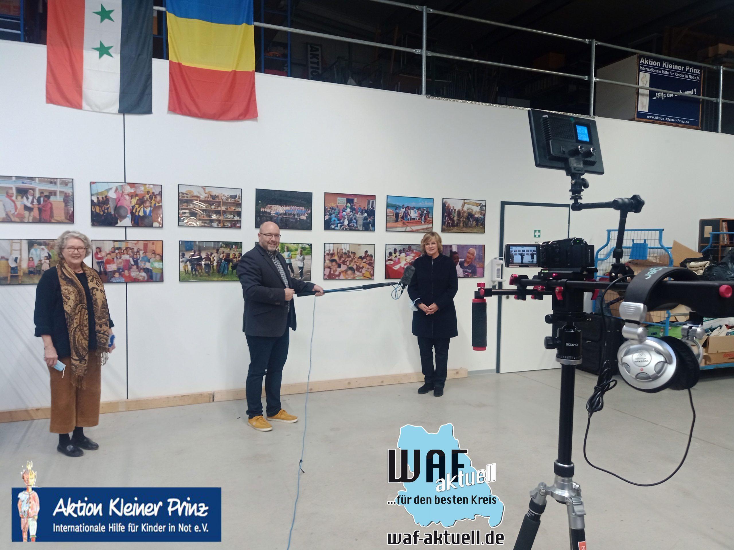 WAF-Aktuell.de besuchte die Aktion Kleiner Prinz in Warendorf – MIT VIDEOBEITRAG